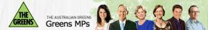 Banner: The Greens Australia, Bilder Politiker