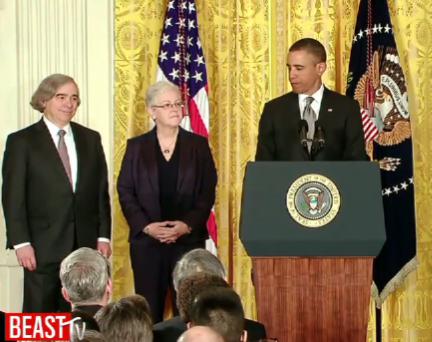 Barack Obama, Gina McCarthy, Ernest Moniz
