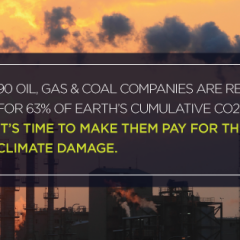 carbon majors pay for damage