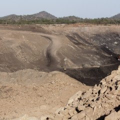 A Jindal coal mine in the Tete Province. Copyright: Danwatch