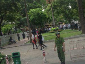 Demonstration in Ho-Chi-Minh-Stadt, Vietnam. Foto: Anonym. Das Bild steht unter der CC-Lizenz BY-NC-ND